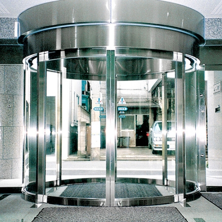 Circular Automatic Sliding Door