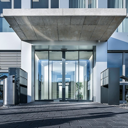 Secure and Energy-Efficient Automatic Sliding Doors