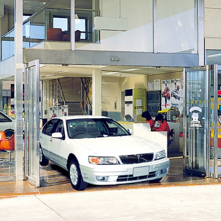 Wide-open Automatic Sliding Door BO-11/BOG-11
