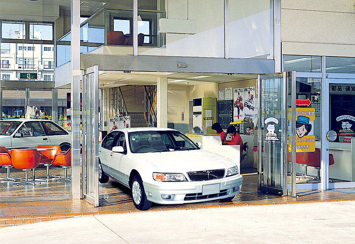 Automatic Sliding Door Wide-open BO-1